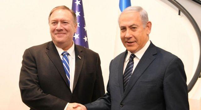 ABD Dışişleri Bakanı Pompeo, Netanyahu ile görüştü