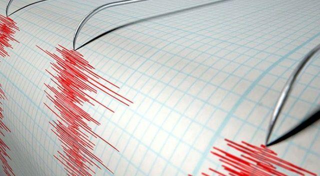 Akdeniz'de 3,7 büyüklüğünde deprem