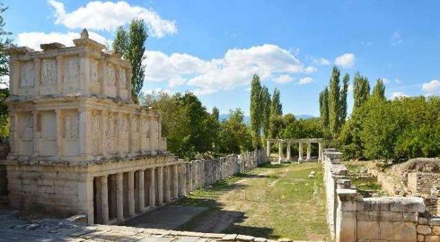 Aphrodisias'ta kazılar sürüyor