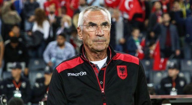 Arnavutluk Teknik Direktörü: Türkiye'ye başarılar diliyorum