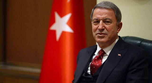 Bakan Akar'dan 'Harekat' açıklaması: Mehmetçik'in morali çok yüksek