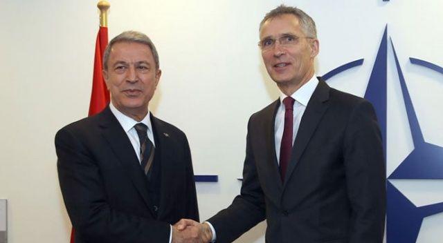 Bakan Akar, NATO Genel Sekreteri Stoltenberg ile görüştü