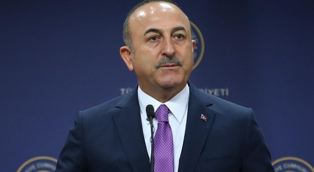 """Bakan Çavuşoğlu: """"Yaptırımlardan korkacak olsak biz burada bu harekatı başlatmazdık"""""""