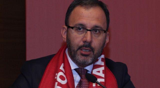 """Bakan Kasapoğlu: """"Tesislerimizi sporcularla, antrenörlerle dolduracağız"""""""