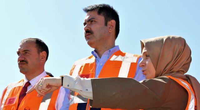 Bakan Kurum: Operasyon bittiği zaman yerleşim alanı inşası projesini hayata geçireceğiz