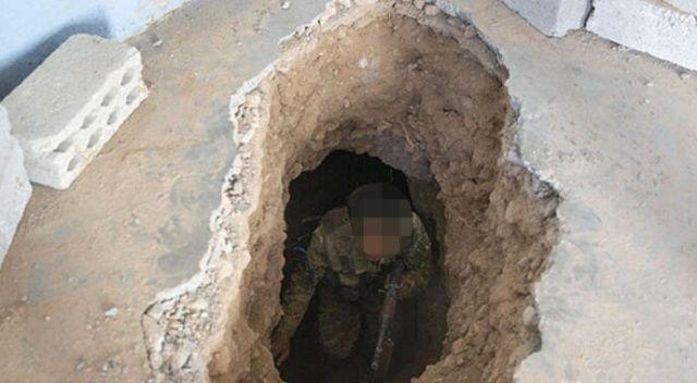 Barış Pınarı Harekatı'nda PKK'nın kazdığı bir tünel ortaya çıkarıldı