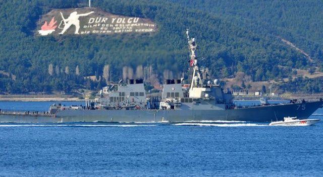 Çanakkale Boğazı gemi geçişine açıldı