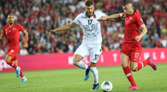 Milliler 90'da güldü (Türkiye 1 - 0 Arnavutluk)