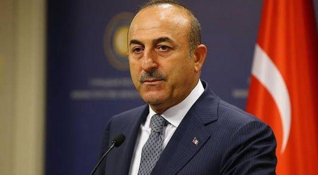 """Çavuşoğlu: """"Bugün Barış Pınarı Harekatı'yla tarihe geçen adım attık"""""""