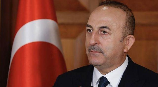 Çavuşoğlu: 'Suriye'ye harekat uluslararası hukuktan kaynaklanan hakkımızdır'