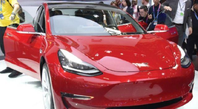 Çin üretimi Tesla satışa hazır hâlde