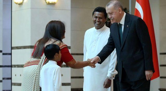 Cumhurbaşkanı Erdoğan büyükelçileri kabul etti