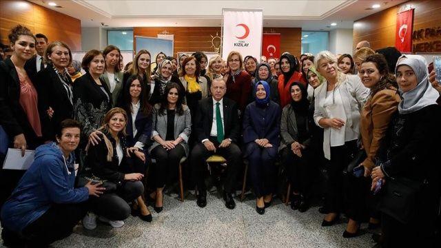 Cumhurbaşkanı Erdoğan'dan kan bağışçılarına ziyaret