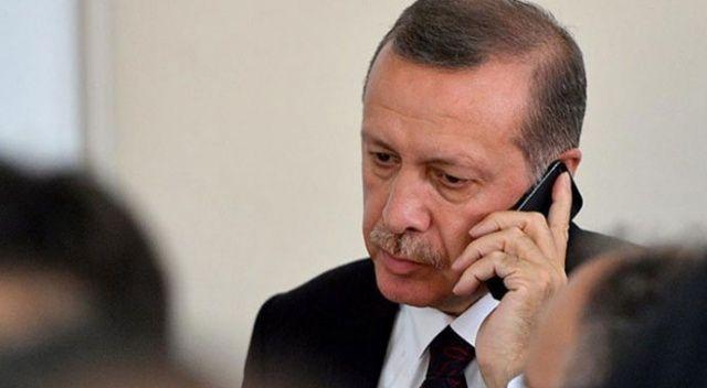 Cumhurbaşkanı Erdoğan'dan siyasi parti liderlerine harekat bilgilendirmesi