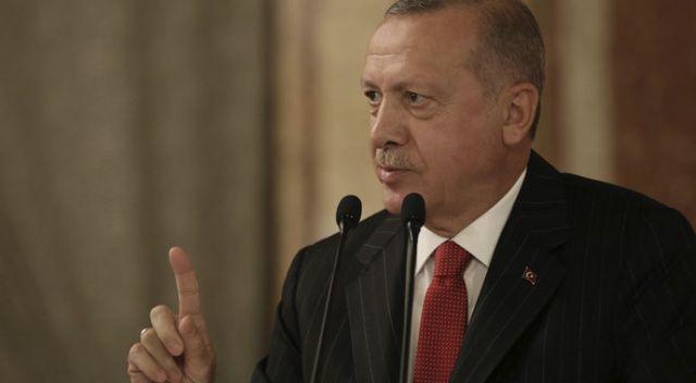 Cumhurbaşkanı Erdoğan: Tehditler gelse de geri adım atmayız