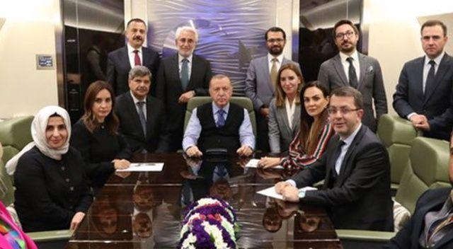 Cumhurbaşkanı Erdoğan: Trump'ın tweet'leri baskılar yüzünden