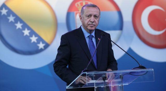 Cumhurbaşkanı Erdoğan: Türkiye'nin tek arzusu Balkanlar'ın barışıdır