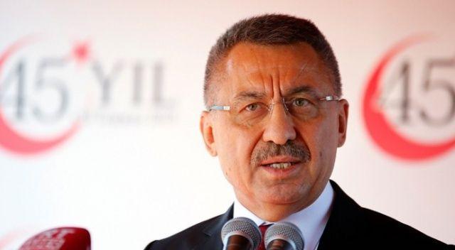 Cumhurbaşkanı Yardımcısı Oktay, yaralı asker ve vatandaşlarla görüştü