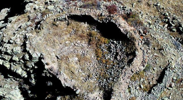 Demir Çağı'ndan kalma 'Kartal Kalesi' 3 bin yıl sonra ilk kez keşfedildi