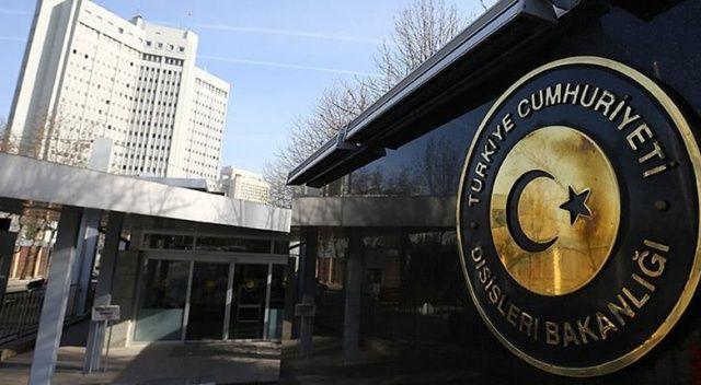 Dışişleri Bakanlığı Sözcüsü Aksoy'dan ABD'nin yaptırım açıklamasına cevap