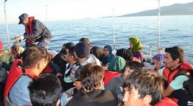 Ege Denizi'nde 10 ayda 42 bin 447 göçmen yakalandı