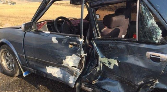 Erzurum'da feci kaza: 4 yaralı