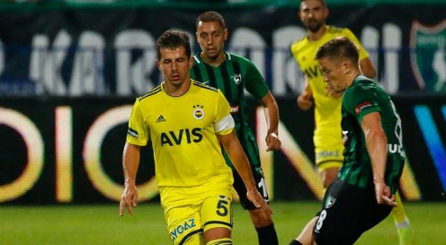Fenerbahçe deplasmanda galip (Denizlispor 1-2 Fenerbahçe)