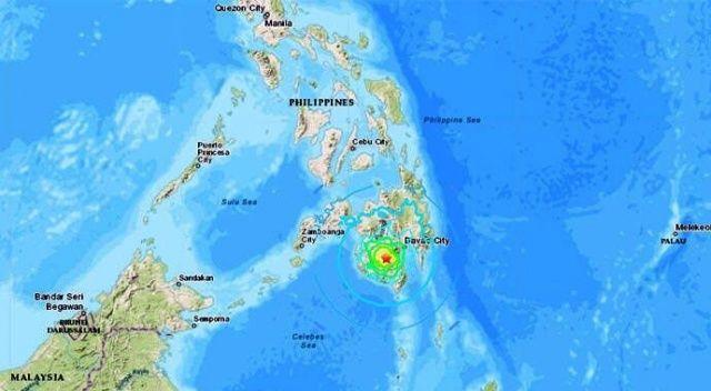 Filipinler'deki depremde ölü ve yaralılar var