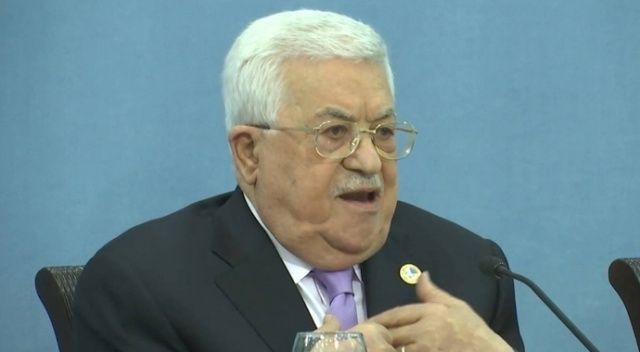 Filistin Devlet Başkanı Abbas, Suudi Arabistan Kralı Selman ile görüştü