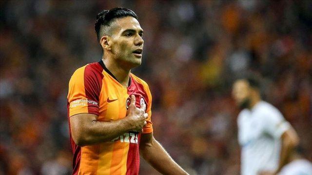 Galatasaraylı Falcao'dan Real Madrid maçı mesajı