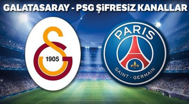 GS PSG CBC Sport Şifresiz Canlı İzle | Galatasaray PSG Az TV İdman TV canlı izle (GS PSG maçı şifresiz kanallar)