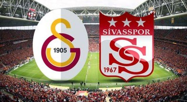 Galatasaray Sivasspor maçı muhtemel 11'ler (GS Sivas maçı saat kaçta, hangi kanalda)