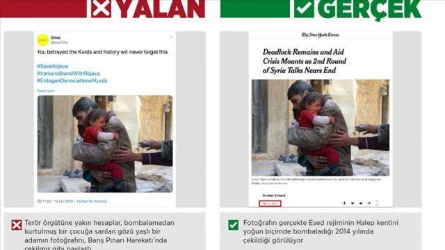 Harekat aleyhine 'gözü yaşlı ailelerin' fotoğraflarıyla manipülasyon