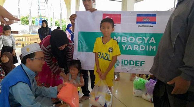 İDDEF'ten 'Kamboçya'ya acil yardım' kampanyası