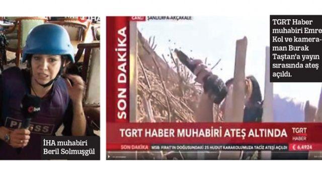 İHAve TGRT Haber ekibine saldırı