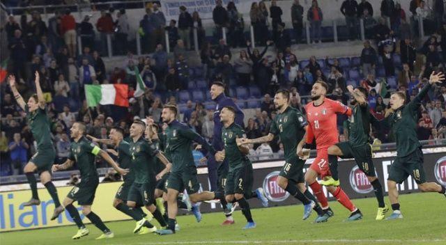İtalya, EURO 2020'ye katılmayı garantiledi