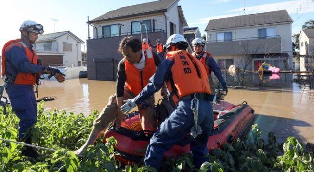 Japonya'da tayfun bilançosu artıyor! Ölü sayısı 68'e yükseldi