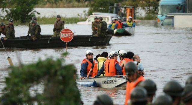 Japonya'yı vuran tayfunda hayatını kaybedenlerin sayısı 40'a yükseldi