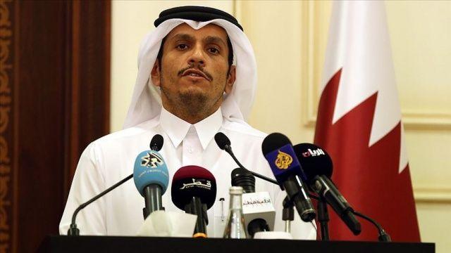 Katar Dışişleri Bakanı Al Sani'den Barış Pınarı Harekatı'na destek