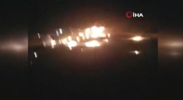 Kaza yapan umre otobüsü alev aldı: 30 ölü, 5 yaralı