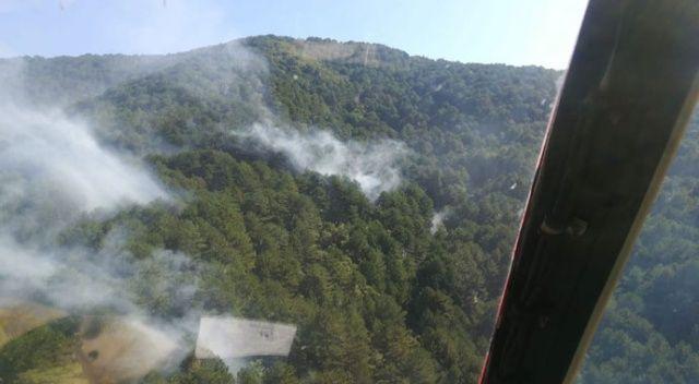 Kazdağları'nda orman yangını kontrol altına alındı