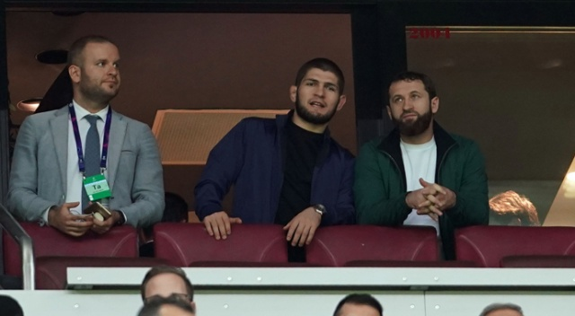 Khabib Nurmagomedov'dan Galatasaray'a destek