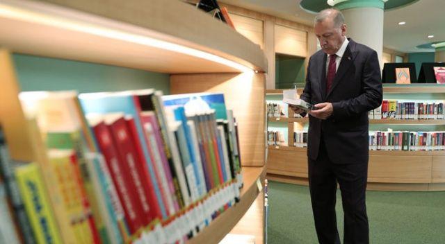 Külliye kütüphanesi açılışa  gün sayıyor