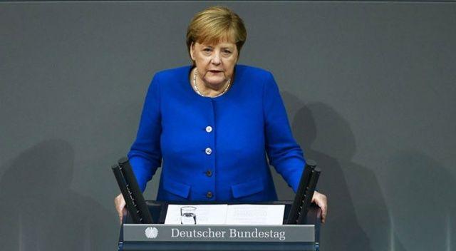 Merkel'den 'Barış Pınarı Harekatı' açıklaması: Güvenlik çıkarları diplomatik yollarla korunabilir