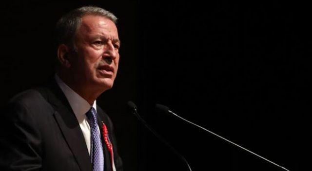 Milli Savunma Bakanı Akar: Tek hedefimiz terör koridorunu yok etmek