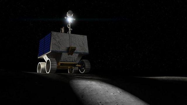 NASA Ay'ın güney kutbuna su arama robotu gönderiyor