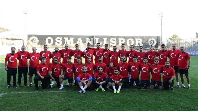 Osmanlıspor'dan Barış Pınarı Harekatı'na destek