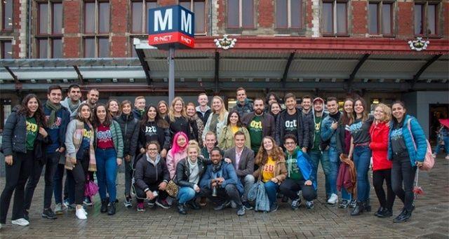 Özyeğin Üniversitesi öğrencileri Hollanda'dan 2 kupayla döndü