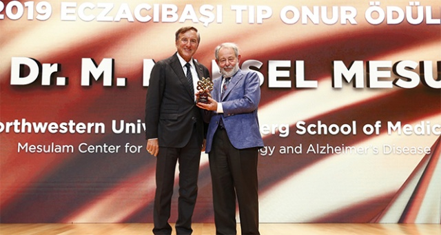 Prof. Dr. Marsel Mesulam'a Eczacıbaşı Tıp Onur Ödülü