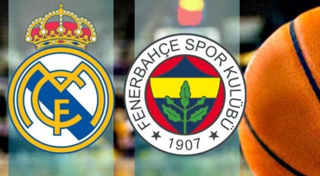CANLI İZLE Real Madrid Fenerbahçe basketbol hangi kanalda şifresiz? (Real Madrid FB maçı canlı izle, canlı skor)